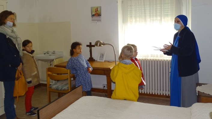 "contemplativas del Monasterio ""Santa Hildegarda de Bingen"", en Luxemburgo - open house"