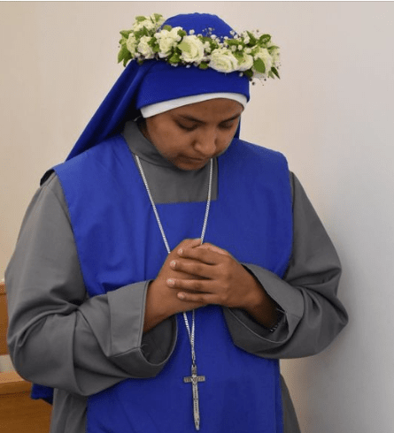 profesión perpetua la Hermana M. Filia Praedilecta