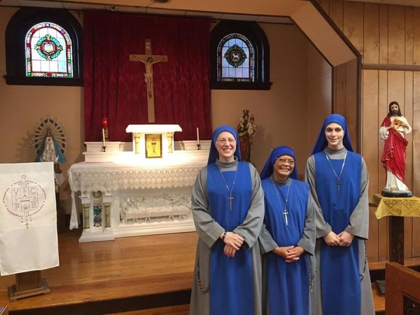 """nueva comunidad """"Santa Catalina de Siena"""", se fundó en la Provincia de Estados Unidos"""