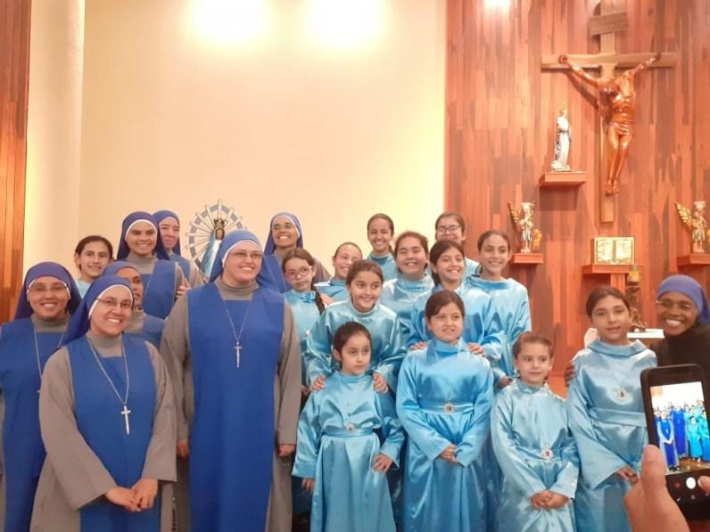 """10 años la comunidad """"Nuestra Señora de Mato Grosso"""", en Brasil"""