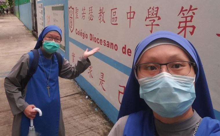 Comunidad en Macao, China