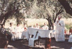 Mass with Mons. Leon Kruk