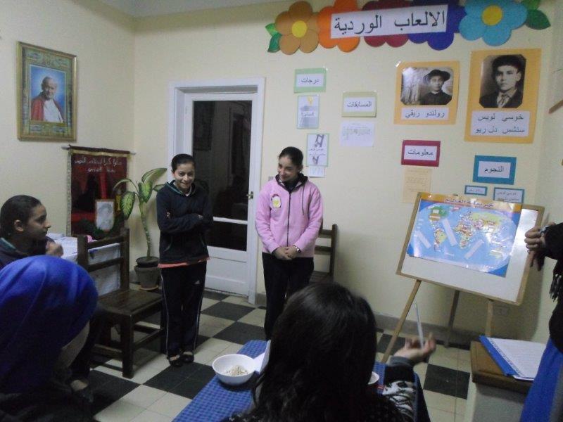 Juegos - Florales - Aspirantado - Egipto - SSVM
