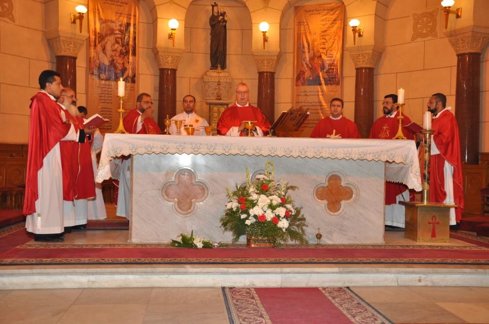 Servidoras - Profesión de los votos perpetuos en Egipto - Padre Orell