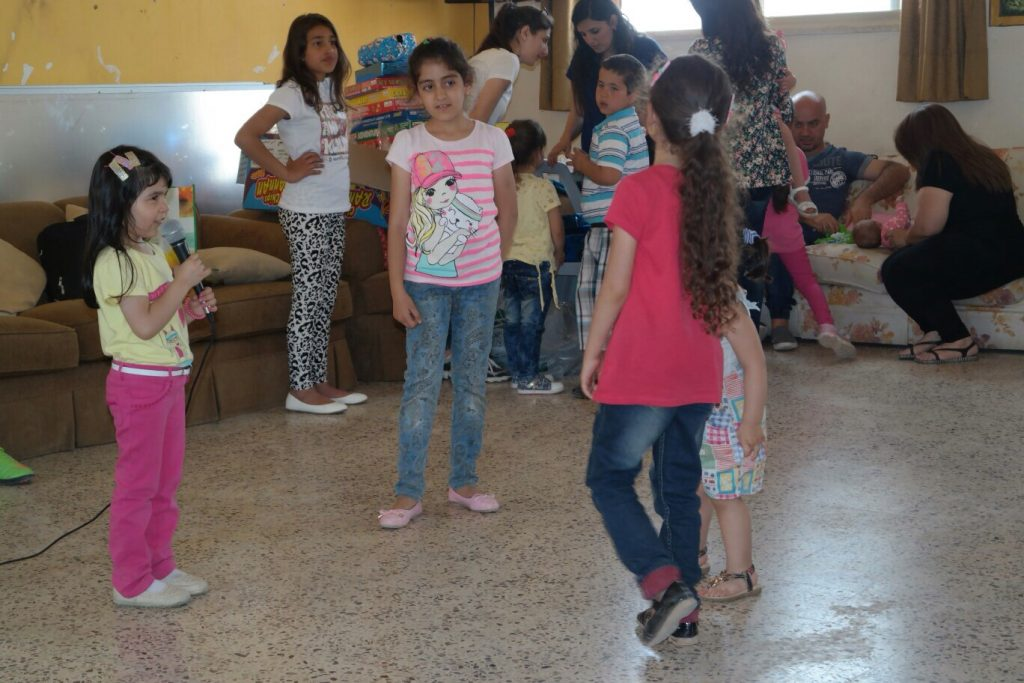 Servidoras - Family day with Iraqi families