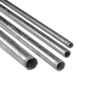tubo galvanizado, redondo
