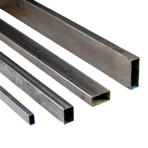 tubo industrial rectangular, construcción