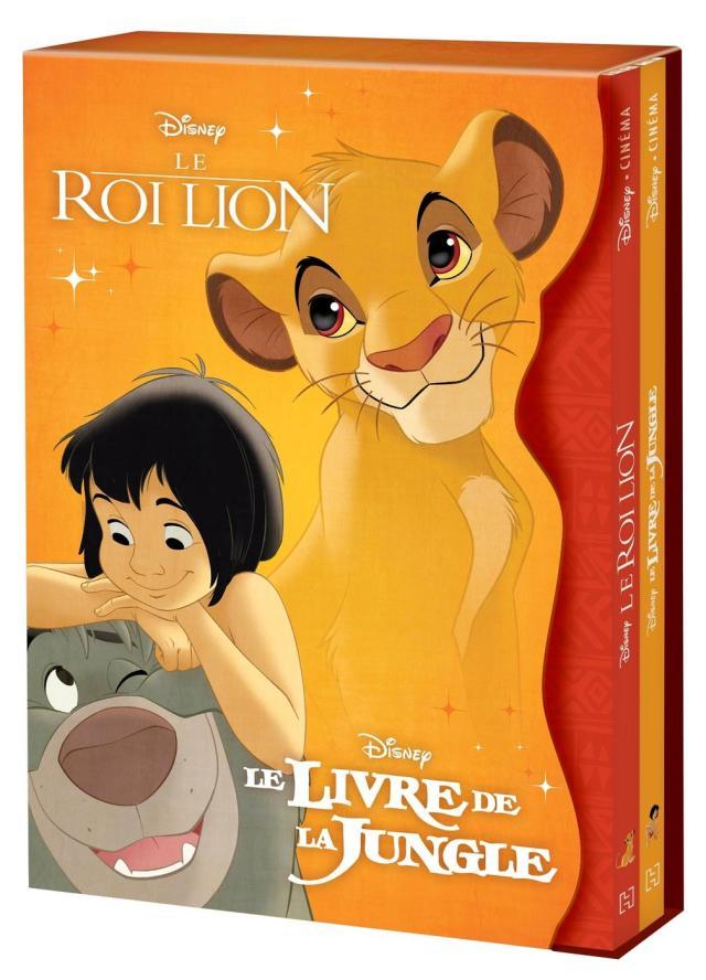 Disney classiques - coffret disney cinéma - le roi lion et le livre -  Librairie Eyrolles