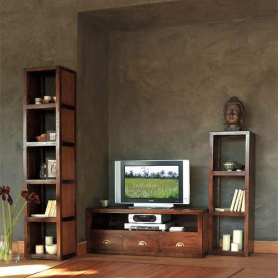meuble tv colonnes bureau maison du