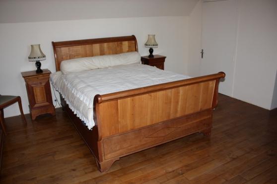 chambre a coucher merisier louis