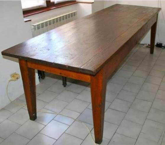 table de ferme ancienne marche fr