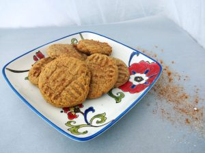 finished almond butter cookie recipe