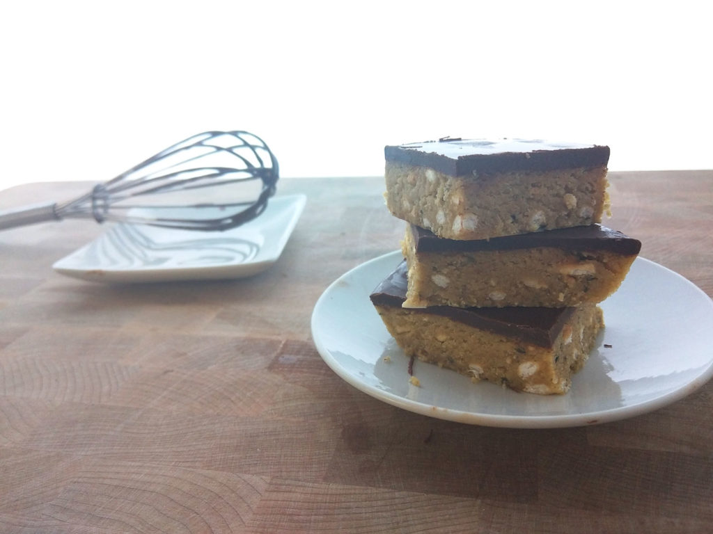 Peanut Butter Bar Recipe (Protein Packed!)