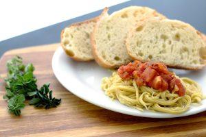 homemade vegan pasta recipe