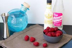 prep muddled raspberry vegan vodka drink recipe