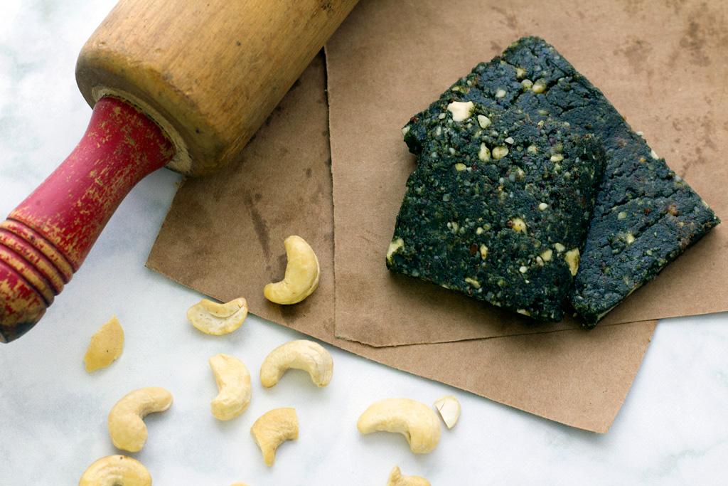 vegan protein bar recipe with cashews