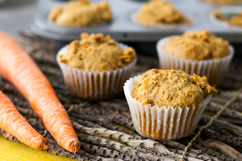 carrot and peanut butter pupcake recipe