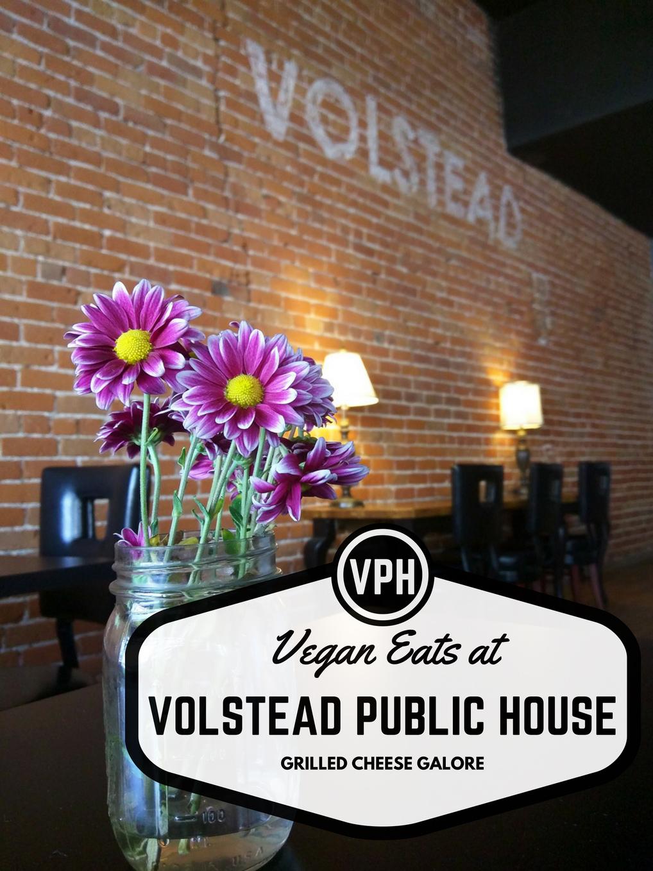 Vegan Phoenix: Volstead – Best Vegan Grilled Cheese in the Valley