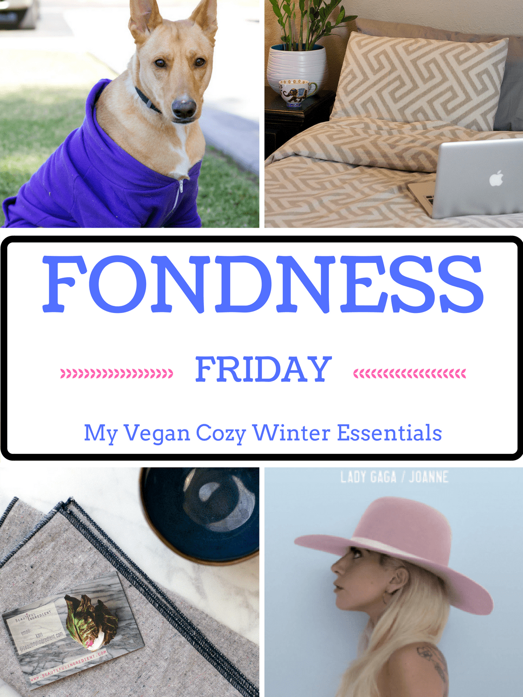 Fondness Friday: Cozy Vegan Winter Essentials