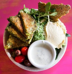 pomegranate cafe athena salad