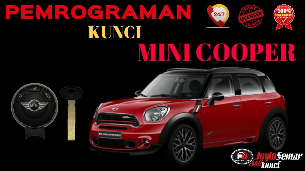 pemrograman kunci mini cooper