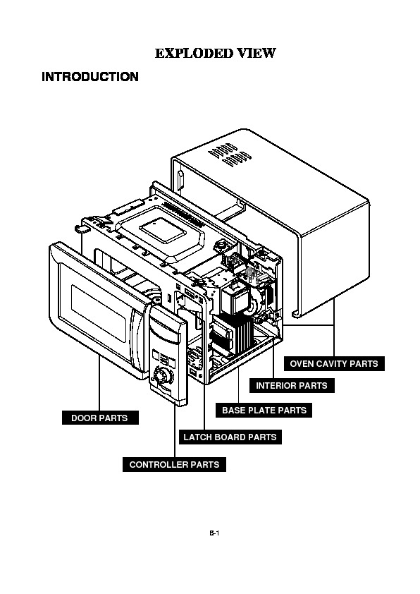 lg microwave oven service manuals page 2