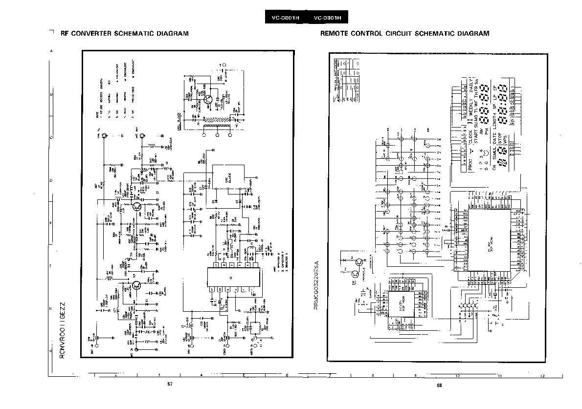 Sharp Vc D801h Servn4 Service Manual View Online Or Download Repair Manual