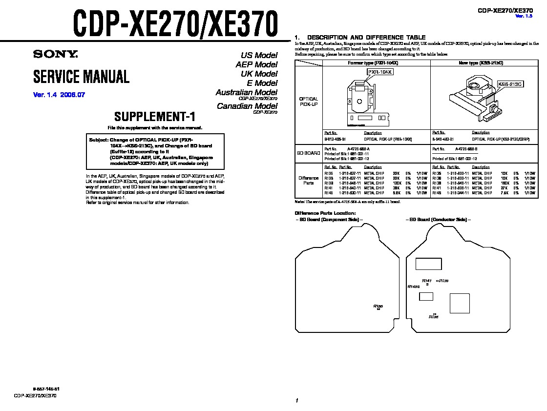 Sony Hcd Rg190 Hcd Rg290 Service Manual