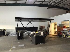 motion base, motion base platform, six axis, steward platform, 6DOF