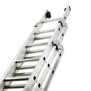 Triple Extension Aluminium Ladder - SERV Plant Hire