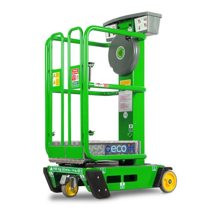 Peco Manual Lift - SERV Plant Hire
