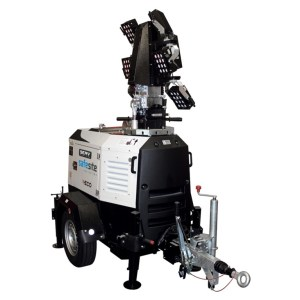 X-ECO Hybrid Lithium Tower Light - SERV Plant Hire