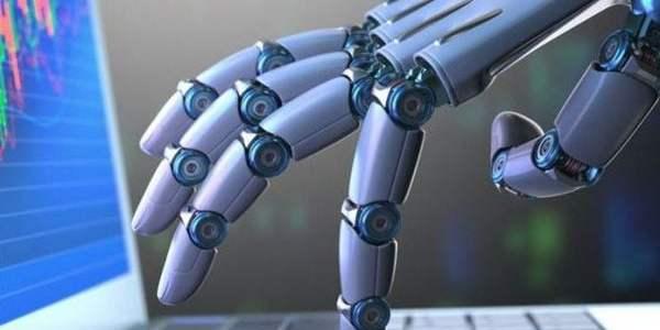 mana de robot