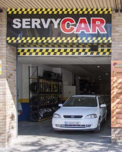 ServyCar Tu Taller mecanico automovil multimarca zaragoza centro Sl01 In01 Estamos En El Centro De Zaragoza calle diputados 3 5 - Muy cerca de ti - Evento historico Servycar