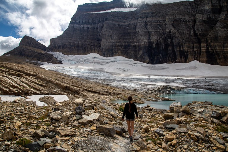 Grinnel Glacier Viewpoint - kra