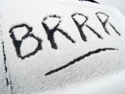 brrrr Zima w Zamościu. Nauka jazdy