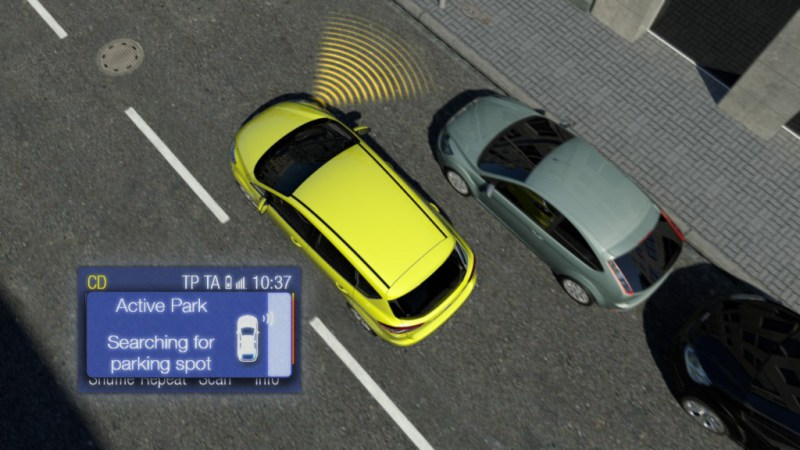 Active Park Assist is popular on both the C-MAX and Focus