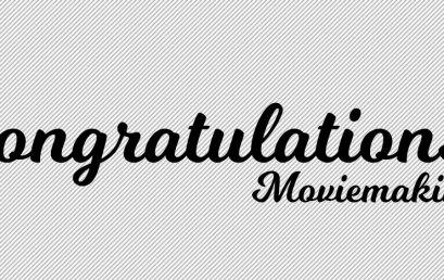 Congratulations/ Moviemaking