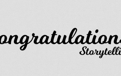 Congratulations/ Storytelling