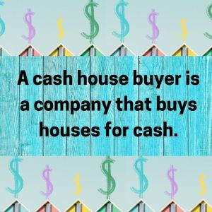 dollar signs and houses - we pay cash for houses
