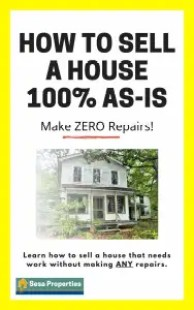how to sell a house as is - no repairs ebook