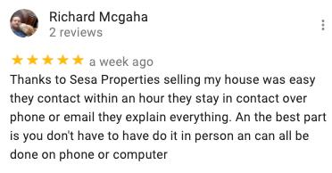 we buy houses reviews