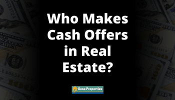 Who Makes Cash Offers in Real Estate