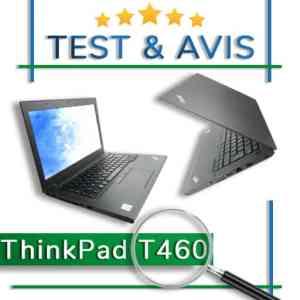 LENOVO ThinkPad T460 – Test et avis