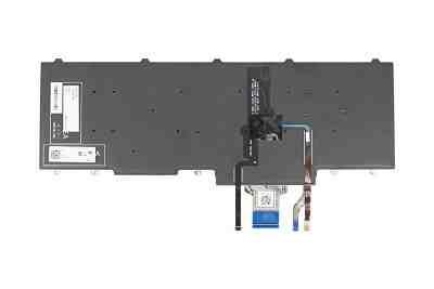 Clavier allemand pour ordinateur portable DELL parmi les modèles suivants : E5550, E5570, E5580.