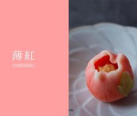 Vol.06 薄紅(うすくれない)【和菓子と日本の色】