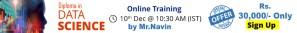 data science- Online- Training