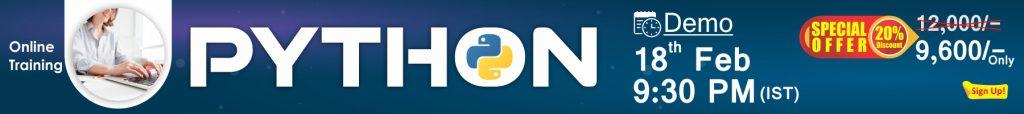 Python Online Training