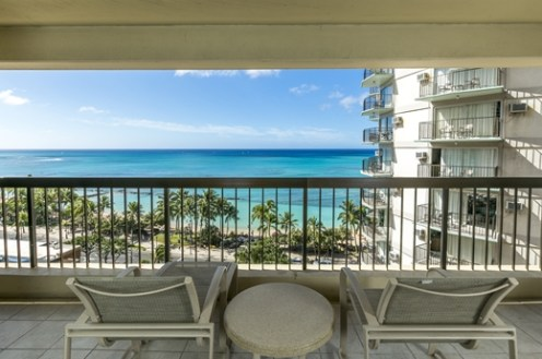Aston-Waikiki-Beach-Tower-One-Bedroom-Ocean-View-Lanai