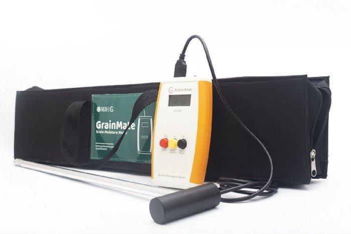 Measuring moisture content in grains: GrainMate to the rescue